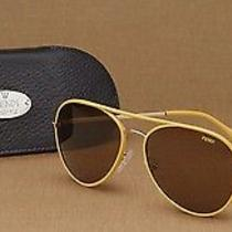 Fendi Maserati Leather Aviator Sunglasses Sellaria Le Ray Ban Tom Ford Prada Photo