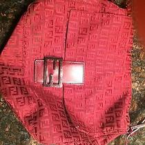 Fendi Medium Red Handbag Photo