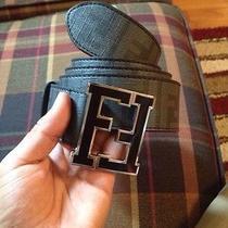 Fendi Mens College Black Belt Photo