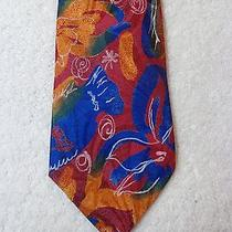 Fendi Mens Tie Wonderful Abstract Fish Photo