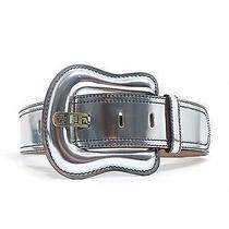 Fendi Metallic Leather Belt  Photo