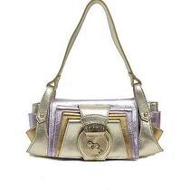 Fendi  Metallic Leather Compilation Bag  Photo