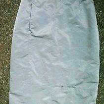 Fendi  Metallic Silver Skirt Photo