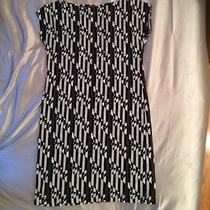 Fendi Monochrome Print Logo Vintage Dress 80s Photo