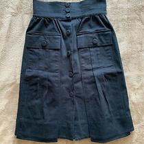 Fendi Navy Skirt. Size It38. Excellent Condition Photo
