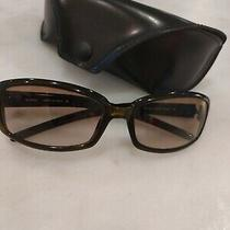 Fendi Olive Sunglasses W Black Leather Case Made in Italyfendi Women Fs526257/16 Photo