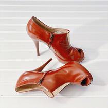 Fendi Open Toe Mesh Detail High Heel Pumps Size 38 1/2 Photo