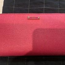 Fendi Pink Fuchsia Crayons Zipper Wallet Clutch Photo