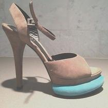 Fendi Platform Bubble Sandals Size 39 - 9 Us New Photo
