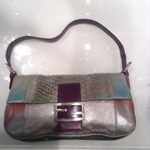 Fendi Pocket Book Snakeskin Photo