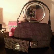 Fendi Purse Black Purse Black Wallet  Photo