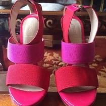 Fendi Red/pink Heels Photo