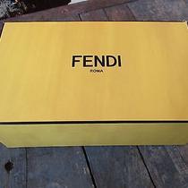 Fendi Roma Empty Storage / Gift / Shoe Box Photo