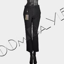 Fendi Rp1000 Straight Black Trousers Pants It38 Us2 Bnwt Photo