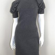 Fendi Ruched Modern Shoulder Dress Size 6 Photo