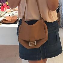 Fendi Selleria Beige Blush Shoulder Bag Photo