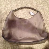 Fendi Selleria Hobo - Pewter - 100% Authentic Photo