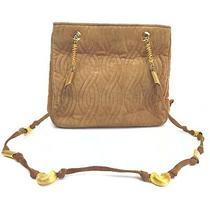 Fendi Shoulder Bag Macaronistrap Beiges Suede Leather 1413975 Photo
