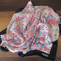 Fendi Silk Scarf Authentic New Never Worn Photo