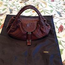 Fendi Spy - Brown Euc Photo