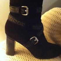 Fendi Suede Brown  Boots Photo