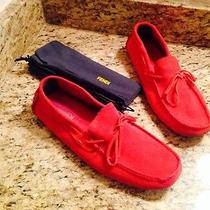 Fendi Suede Moccasins Loafers Photo