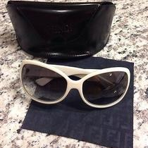 Fendi Sunglasses Fs5007 Off-White Cream Bone Photo