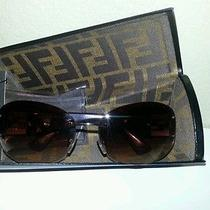 Fendi Sunglasses Includes Case and Cleaning Cloth Authentic Photo