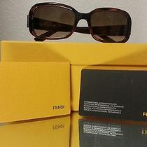 Fendi Sunglasses Tortoise Shell Brown Women's Glasses Glasses Photo