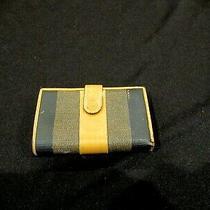 Fendi Wallet Signature Brown Color Photo