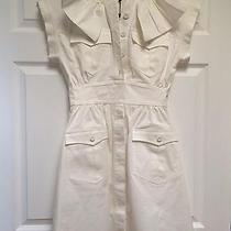 Fendi White Cotton Casual Dress  Photo