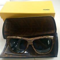 Fendi Wood Retro Cat's Eye Sunglasses Photo