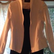 Fendi Zipper Cream Blouse Top Coat Jacket Like New Italy Vintage Photo