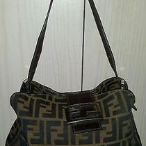 Fendi Zucca Handbag With Dustbag  Photo