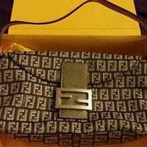 Fendi Zucca Handbag With Original Package and Gift Receipt Photo