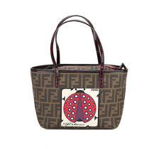 Fendi Zucca Lady Bug Small Tote (Authentic Pre Owned) Photo