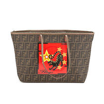 Fendi Zucca Tiger Large Tote (Authentic Pre Owned) Photo