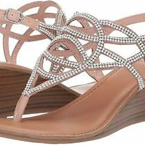 Fergalicious Womens G4364s1 Open Toe Casual Slingback Sandals Blush Size 9.0 N Photo