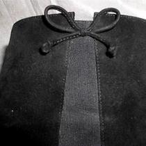 Ferragamo  Signature  Black Suede Boots Shoes 10.5 N Photo