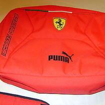 Ferrari Scuderia by Puma Red Shoulder Laptop Bag Photo