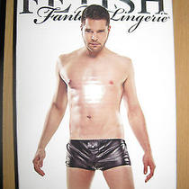 Fetish Fantasy Lingerie Men's Hidden Pocket Brief Size S/m Photo