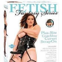 Fetish Fantasy Plus-Size Crotchless Corset Strap On Photo