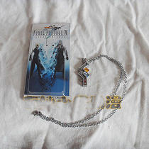 Final Fantasy 13 Ff13 Lightning Cosplay Costume Necklace Metal Pendant Photo