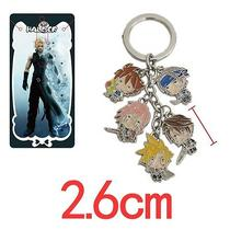 Final Fantasy Anime Characters 5 Pendants Key Chain 37932 Photo