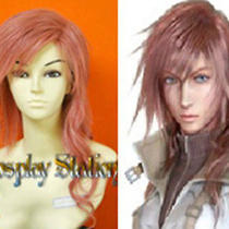 Final Fantasy Lightning Custom Made Cosplay Wig Photo