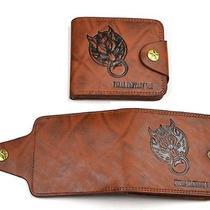 Final Fantasy Vii Advent Children New 2014 Leather Wallet Photo