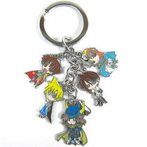 Final Fantasy Vii Anime Characters 5 Pendants Key Chain 32112 Photo