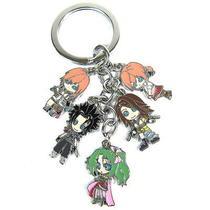Final Fantasy Vii Anime Characters 5 Pendants Key Chain 32113 Photo