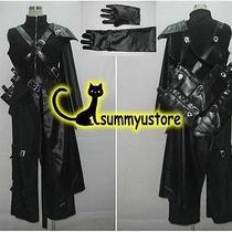 Final Fantasy Vii Cloud Strife Cosplay Costume Customized Cartoon Photo