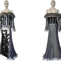 Final Fantasy X10 Lulu Cosplay Costume  Custom Cartoon Photo